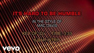 Mac Davis - It's Hard To Be Humble (Karaoke)