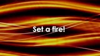 SET A FIRE - BUILDING 429 (Lyrics Video)