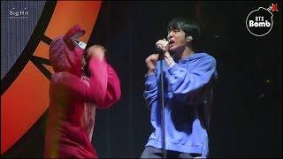 Cover images [J4J][Vietsub] Hậu trường sân khấu của Jin và V - Even If I die, it's you (PROM PARTY FESTA 2018)
