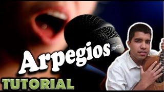 Clases de canto #8- Como cantar con arpegios