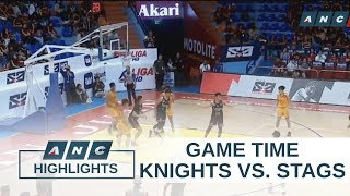 NCAA: Knights set to face Stags in stepladder semis | Game Time