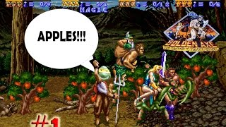 Quarter Masters: Golden Axe The Revenge of Death Adder Episode one - Apples!!!