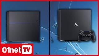 PS4 Pro vs PS4 : les principales différences