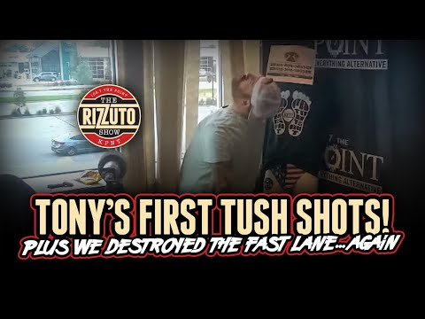 PATRICO takes his TUSH SHOTS and we BEAT the FAST LAME again! [Rizzuto Show]