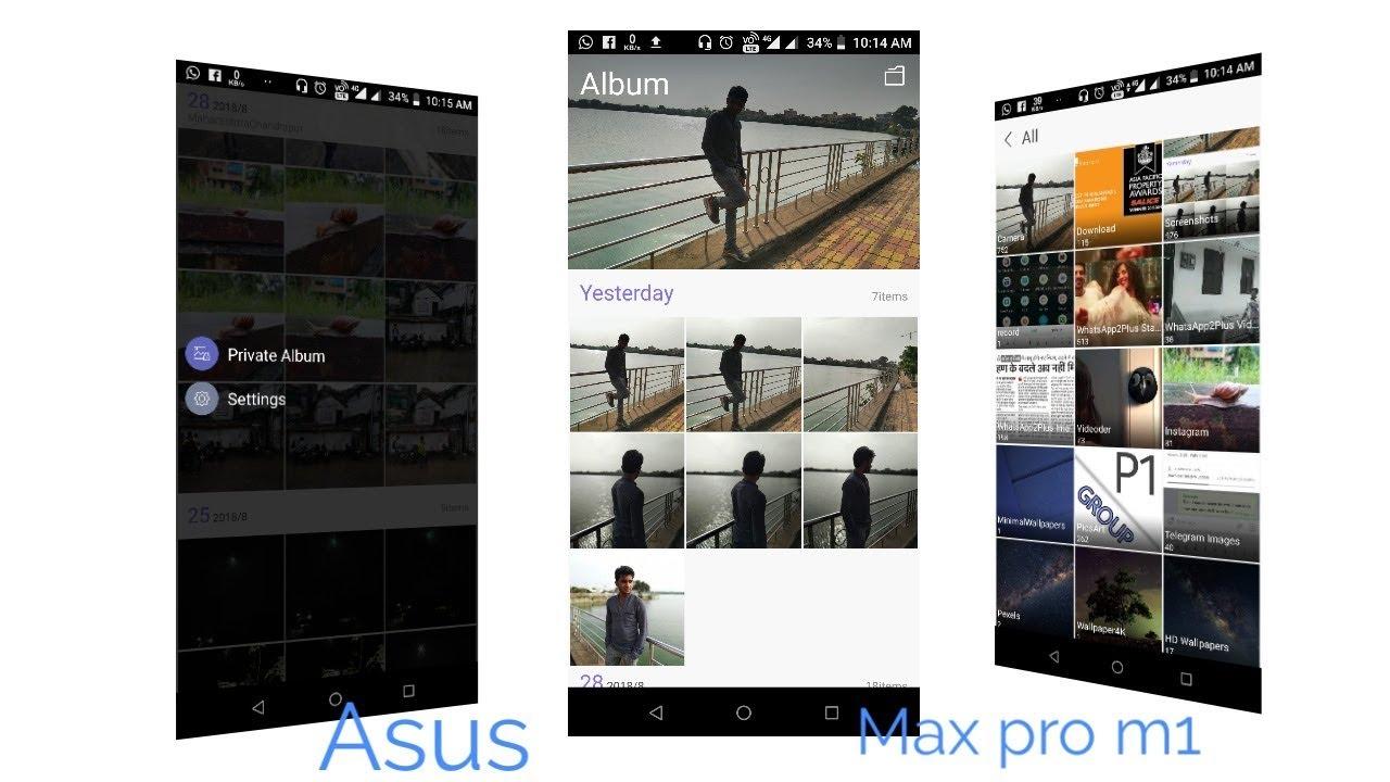 Best Gallery app for Asus Zenfone Max Pro M1
