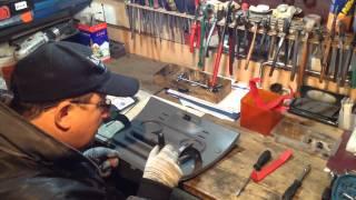 Ремонт бардачка Citroen Jumpy | Repair The Glove Box