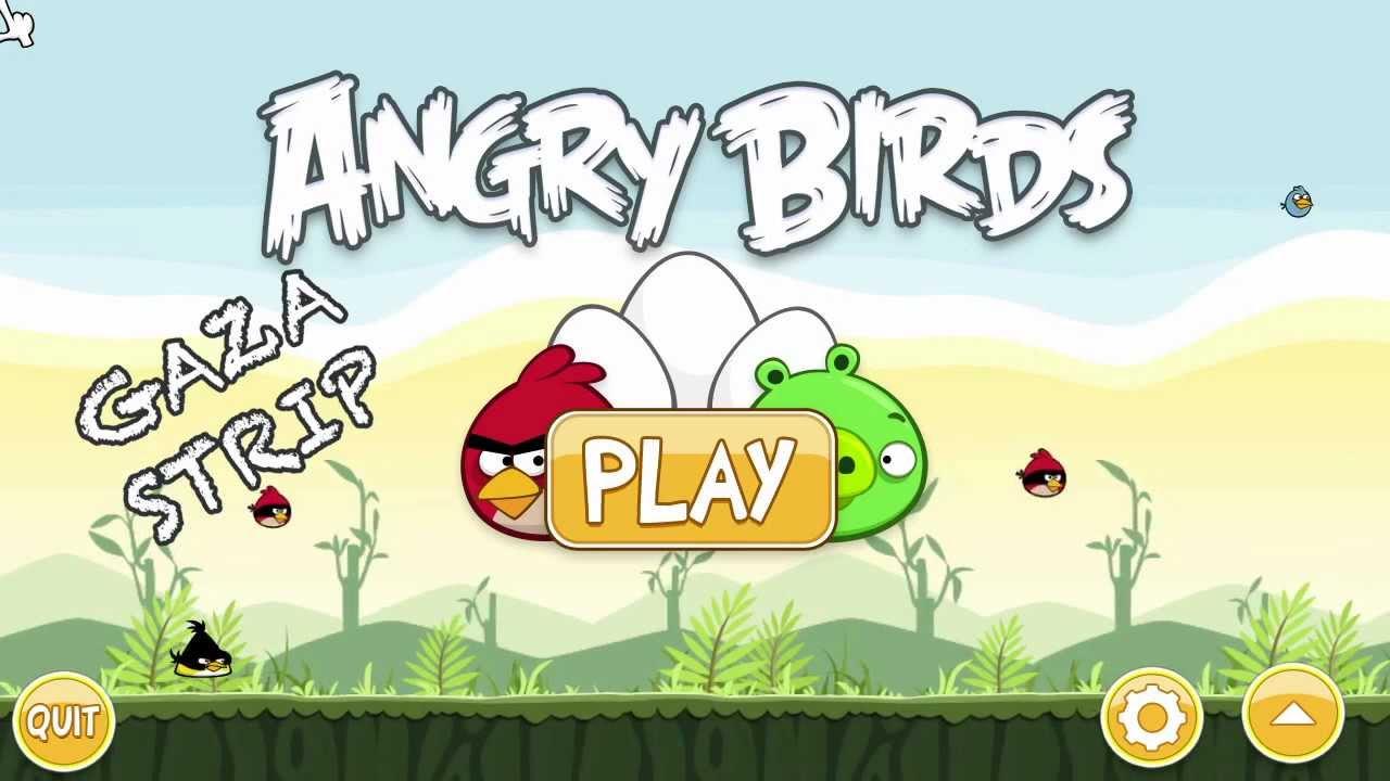 Angry birds gaza strip watch in full hd youtube voltagebd Choice Image
