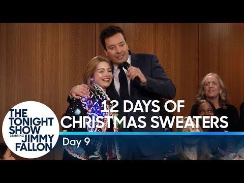 12 Days Of Christmas Sweaters 2018 Day 9 Blog De Nicolas Sellier Tv