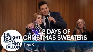 12 Days of Christmas Sweaters 2018: Day 9