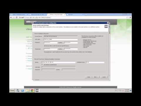 VMware vCAC 6.0 - Basic vCAC IaaS installation by Yves Sandfort