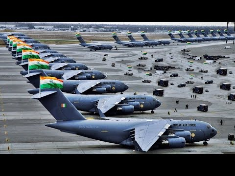 Indian Air Force Aircraft and Helicopters (Message to Pakistan)