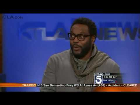 Chad Coleman on KTLA talking about his role on Arrow
