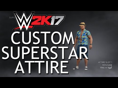 WWE 2K17 Custom Superstar Attire: Vacation Vince McMahon
