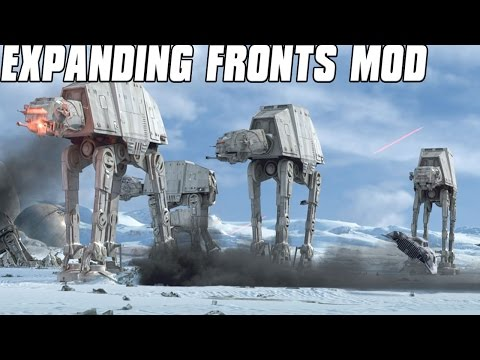 Expanding Fronts - Empire Strikes Back - Star Wars: Galactic Battlegrounds Mod
