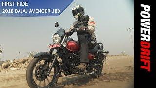 Bajaj Avenger 180 : First Ride : PowerDrift