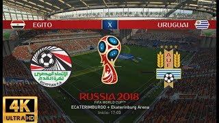 FIFA 18 WORLD CUP RUSSIA 2018 - URUGUAI X EGITO