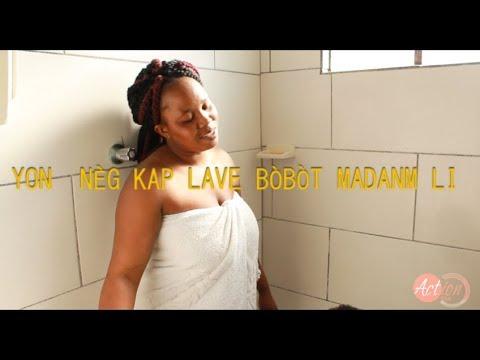 Download Yon nèg kap lave bòbòt madanm li