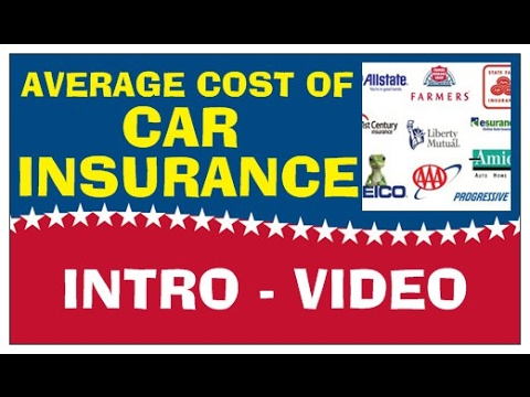average cost of car insurance how much does car insurance cost per month average youtube. Black Bedroom Furniture Sets. Home Design Ideas