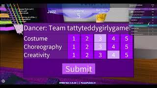 Dancing /w Golden Sarah Games ( Danse votre Blox Off (fr) #76 Roblox