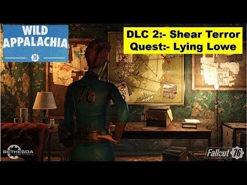Fallout 76 Shear Terror Dlc Lying Lowe Find All Clues In Lowe Taxidermy Youtube