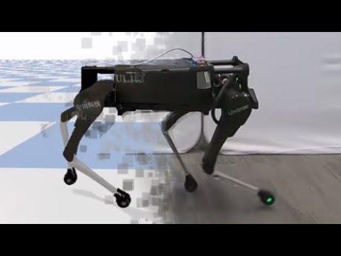 Roboter kopieren Bewegungen aus der Tierwelt.