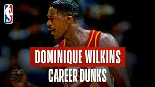60 Of Dominique Wilkins GREATEST DUNKS!