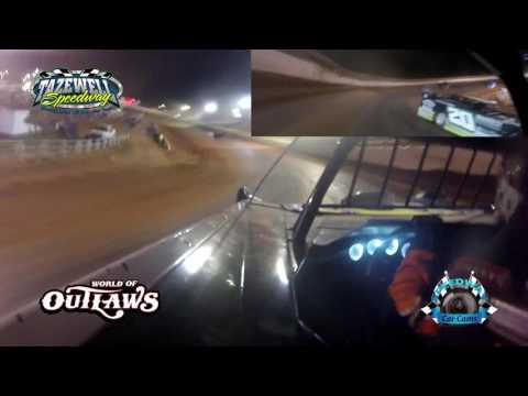 #7W Ricky Weiss - WoO Super Late Model - 6-2-17 Tazewell Speedway - In-Car Camera