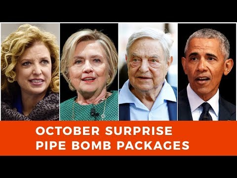 October surprise delivered in pipe bomb packages to Soros, Obama and other neo-liberal elite