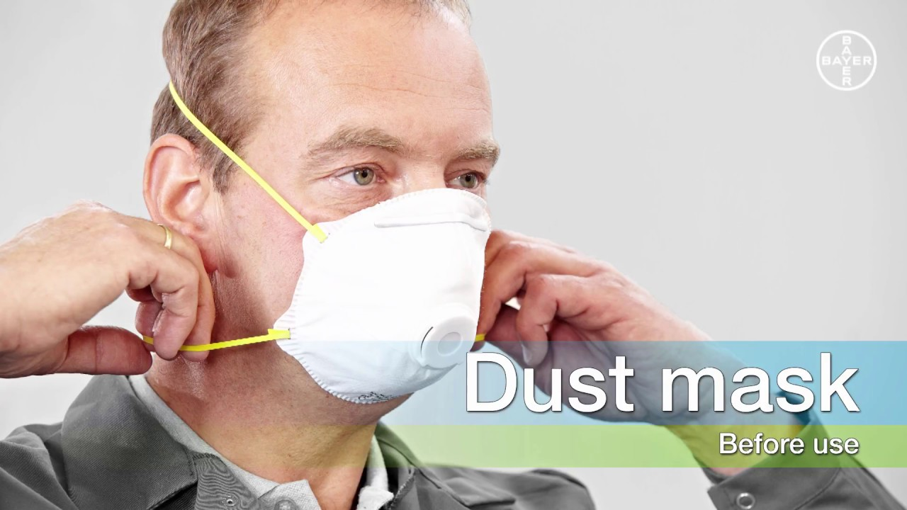 how to wear a dust mask youtube. Black Bedroom Furniture Sets. Home Design Ideas