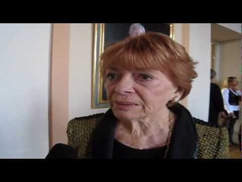 OGAE Sweden Convention 2012:  Interview with Lys Assia (Switzerland 1956, 1957, 1958)