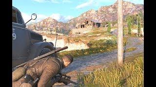 Sniper Elite 4 in 4K Maxed Settings Gameplay
