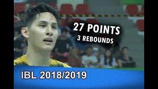 Daniel Wenas CAREER HIGH 27Pts/3Rebs vs. Pelita Jaya | Feb 16, 2019