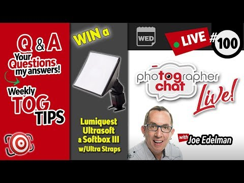 🔴 TogChat™ Live #100 - Photography Podcast and Photography Q&A