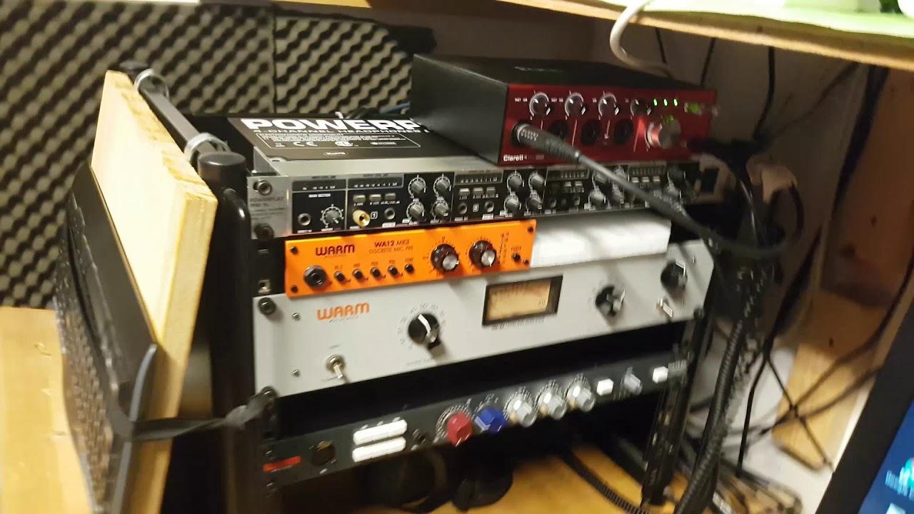Warm Audio WA73-EQ VOCAL TEST