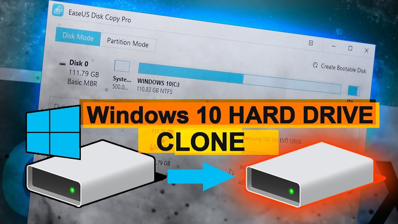 free bootable hard disk clone software
