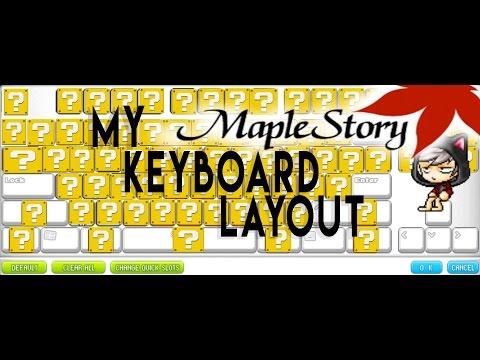 [Maplestory] My Keyboard Layout