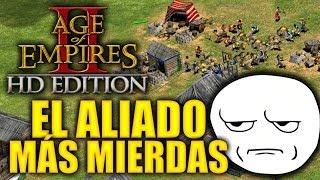 """JUGANDO Age of Empires 2 HD Edition - """"El Aliado Más Mierdas"""""""
