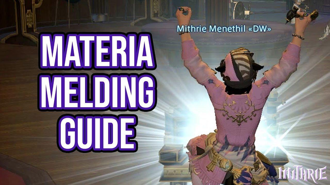 FFXIV 2 1 0166 Advanced Materia Melding