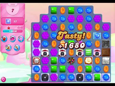 Candy Crush Saga Level 2456 NO BOOSTERS (18 Moves)