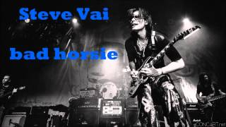 Steve Vai - bad horsie (Guitar Backing Track)