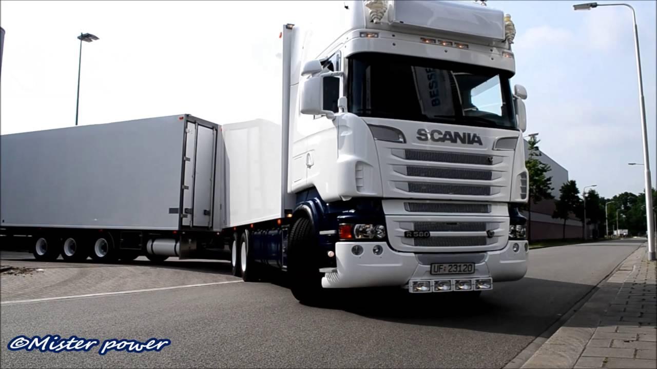 Bien connu NEW Moum Scania R580 V8 SOUND - YouTube HI91