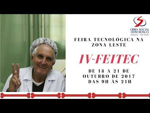 IV Feira Tecnológica na Zona leste de São Paulo l  Obra Social Dom Bosco l Padre Rosalvino l Feira