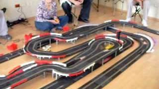 Slot puebla quinta carrera Master Track más 15 metros de pista aprox