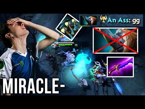 You Can't Troll Miracle- Instant GG From Magnus - Dota 2 thumbnail
