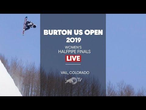FULL SHOW - Burton US Open Women's Halfpipe Finals