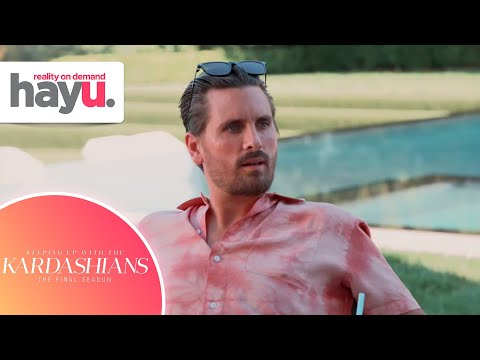 Scott is Scared to Lose His Family   Season 20   Keeping Up With The Kardashians