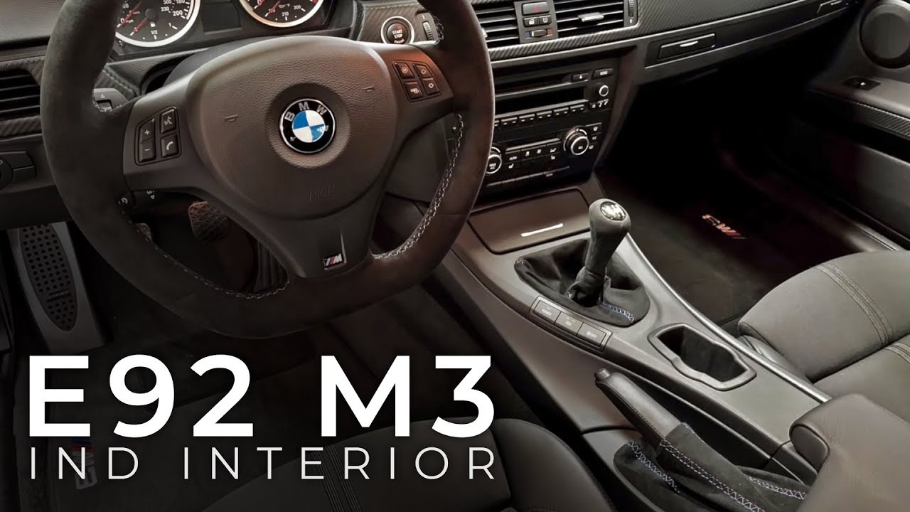 Interieur M Performance E92 M3 M Performance Steering Wheel Ind Alcantara Upgrades Clutch Spring Removal