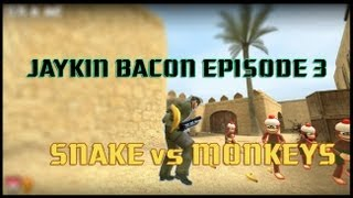 Jaykin' Bacon Episode 3: Snake vs Monkeys