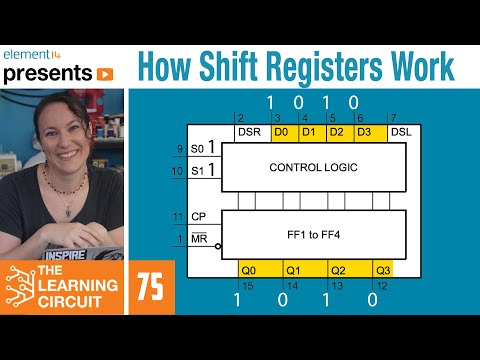 How Shift Registers Work - The Learning Circuit