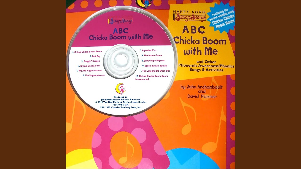 Chicka Chicka Boom Boom - YouTube